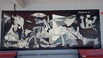 Guernica Cuadro Wikipedia La Enciclopedia Libre