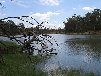 Boundary Bend, Victoria - Murray River at Boundary Bend