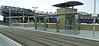 Murrayfield Stadium tram stop