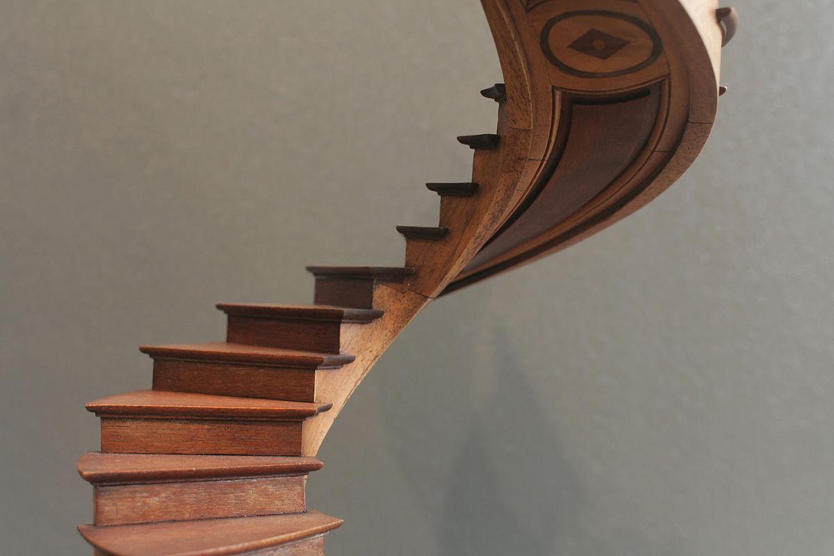 escalier en colimacon traduction neerlandais