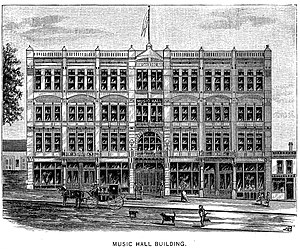 Lucius B. Darling - Darling's Music Hall Building