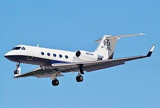 Gulfstream III - Gulfstream III on approach