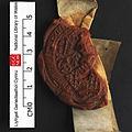 NLW Bronwydd 1414 seal 2 (larger seal) (8633570277).jpg