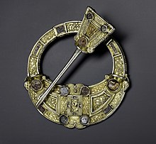 Hunterston Brooch front view