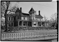 NORTHWEST FRONT - William E. Emery House, 3 East Main Street, Flemington, Hunterdon County, NJ HABS NJ,10-FLEM,5-1.tif