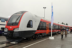Norwegian State Railways - NSB Class 75 regional train