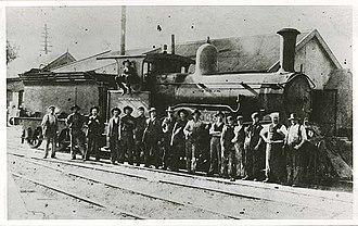 New South Wales Z12 class locomotive - Image: NSWGR Z12 Class Locomotive 1222
