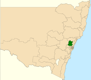 Electoral district of Hawkesbury state electoral district of New South Wales, Australia