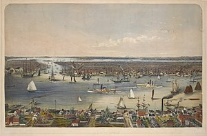 account of the growth of new york from 1825 to 1860 By 1825, the erie canal gave  between 1830 and 1860, new york city grew at an astounding rate     state one way the erie canal affected the economic growth.