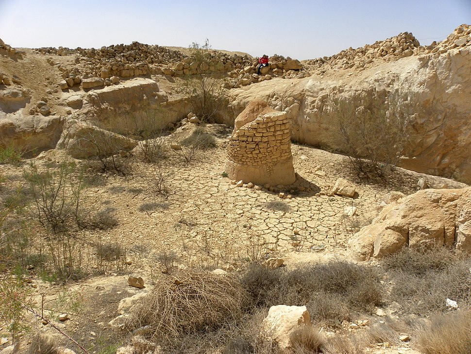 Nabatean Well Negev 031812