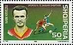Naim Kryeziu 2002 stamp of Albania.jpg
