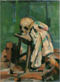 NakamuraTsune-1923-Still-Life with a Scull.png