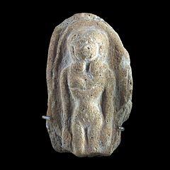 Naked woman Hathor style-AO 17424