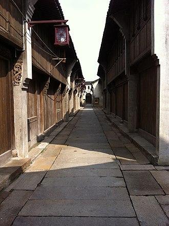 Haining - Image: Nanguanxiang Haining 03