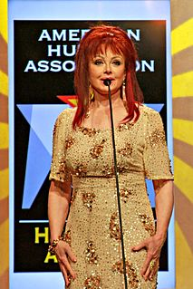 Naomi Judd US country singer