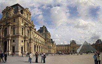 Federal Triangle - The Palais du Louvre in Paris, France, an inspiration for the Federal Triangle complex.