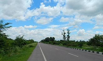 Sitapur district - National Highway 24