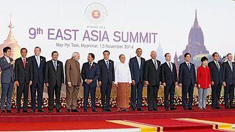 Ninth East Asia Summit - Leaders at the summit.