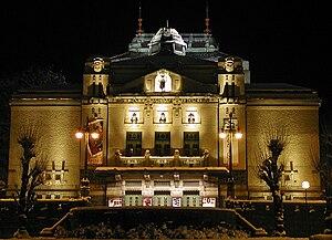 Den Nationale Scene - Den Nationale Scene at night