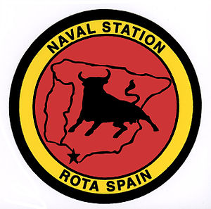 Naval Station Rota, Spain - Image: Naval station rota bull logo spain