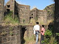 Near the gate, Naldurg fort.jpg