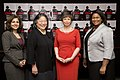 Neera Tanden, Tina Tchen, Valerie Jarrett, and Latifa Lyles, 2014.jpg