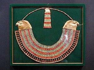 Neferuptah - Broad collar of Neferu-Ptah