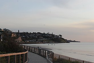 Olivers Hill, Victoria - Olivers Hill from the Frankston Boardwalk.
