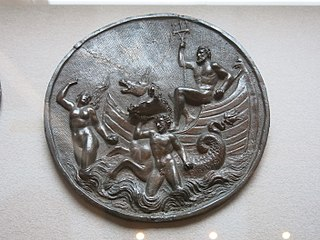 Neptunus, Amphitrite and Triton