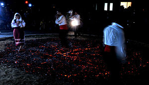 Midsummer - A firewalking ritual in Bulgaria