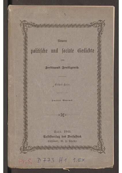 File:Neuere politische und sociale Gedichte Freiligrath 1849.pdf