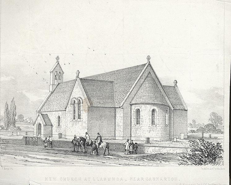 File:New Church At Llanwnda, Near Carnarvon.jpeg
