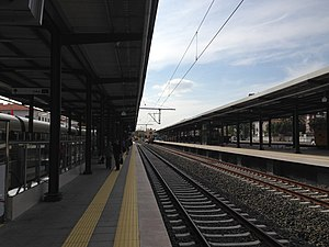 Pendik railway station - Pendik station after renovation.