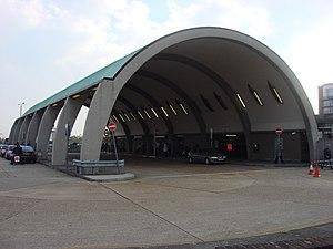 Oliver Hill (architect) - Bus shelter at Newbury Park tube station