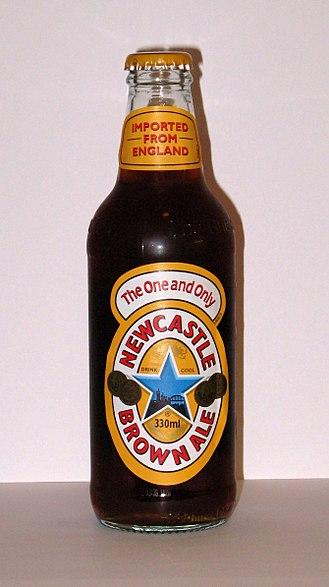 Newcastle Brown Ale - Newcastle Brown Ale bottle