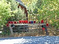 Newspaper deliver boxes in Hobble Creek Canyon, Sep 16.jpg