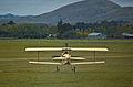 Nieuport XI taking off, Masterton, New Zealand, 25 April 2009.jpg