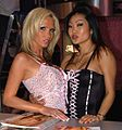 Nikki Benz, Lucy Lee at 2006 AEE Thursday 2.jpg