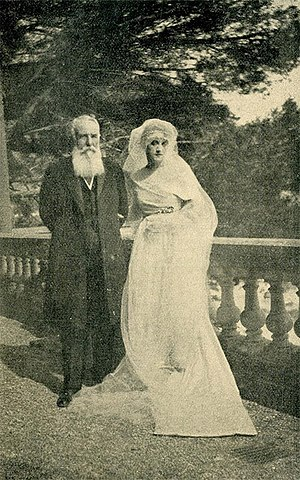 Nikola Pašić - Nikola Pašić and his daughter Pava.