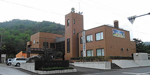 Nishiokoppe, Hokkaido - Nishiokoppe village hall