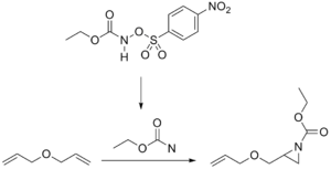 Aziridine - Nitrene addition