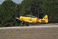 North American SNJ-6 Texan Navy Takeoff 03 TICO 13March2010 (14576474426).jpg