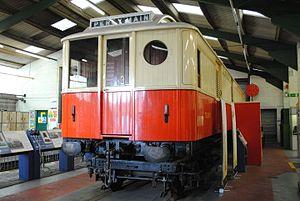 Tyneside Electrics - Preserved 1904 NER electric Motor Parcel Van No. 3267 in the Stephenson Railway Museum