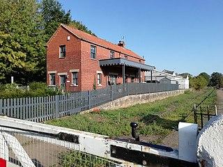 North Elmham railway station Railway station in Norfolk, England