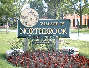 Northbrook, Illinois - Image: Northbrook Welcome Sign