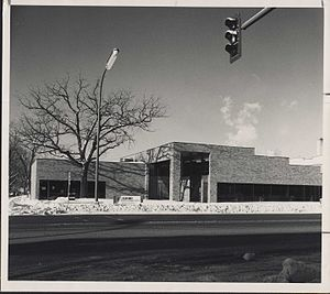 Northeast Library - The Northeast Library was built at 2200 Central Avenue N.E. in Minneapolis in 1972 to replace the 1915 Central Ave. branch of Minneapolis Public Library.