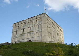 English: Norwich castle, UK, May 2005, User:Bl...
