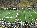 Notre Dame vs. Michigan football 2013 16 (ND on offense).jpg