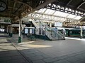 Nottingham Station Platform - Way Out - geograph.org.uk - 642303.jpg