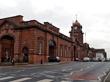 Nottingham railway station Nottingham railway station.jpg